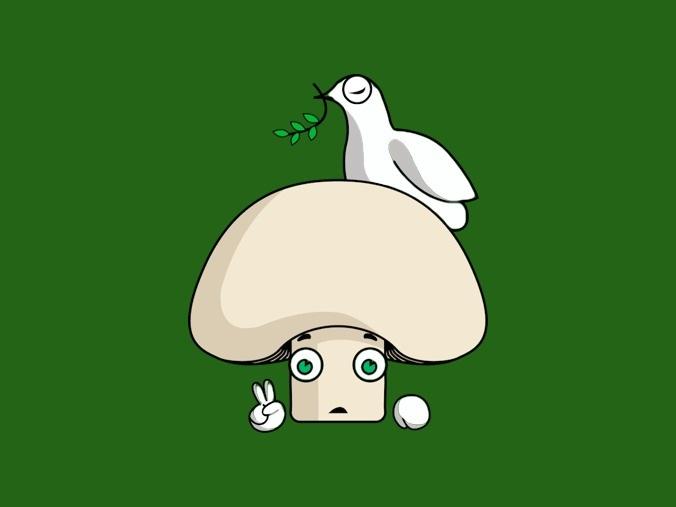 Fruitcraft app's Mushroom