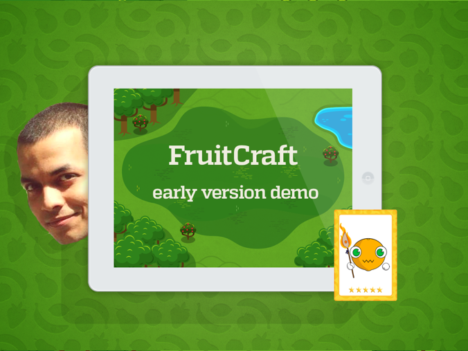 Fruitcraft app is starting to look more like a trading card game