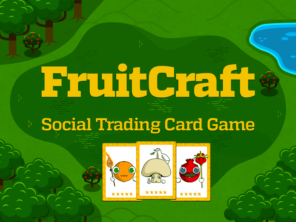 Fruitcraft app on kickstarter