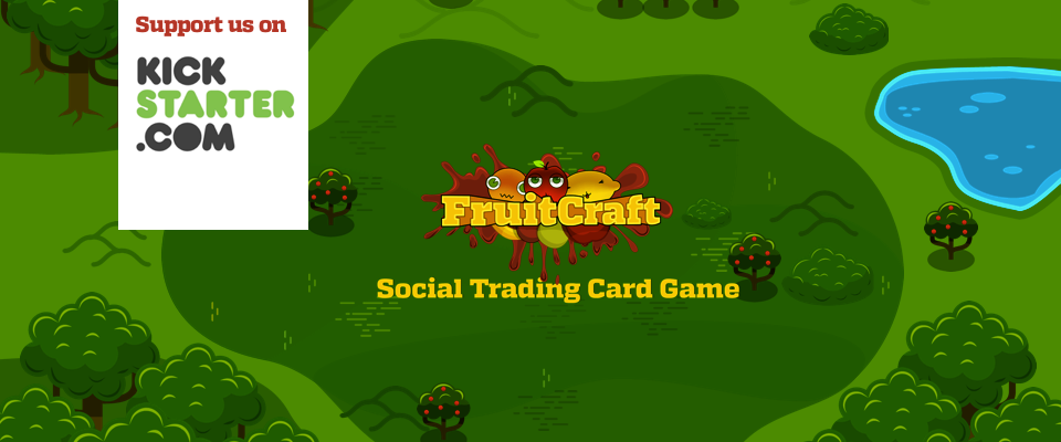 Support Fruitcraft app on Kickstarter